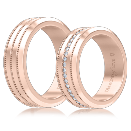 <p>Обручка в рожевому золоті</p>  <p>Чоловіча обручка Таємниця: Нескінченність з рожевого золота без каменів - виразний приклад сучасної класики. Стримана і елегантна форма, точність виконання і яскрава індивідуальність. Весільне кільце - не тільки данина традиції, це почуття, застиглі на піку свого втілення, це символ безмежного щастя і оберіг любові. З нього починається історія молодої сім'ї.</p>  0007127
