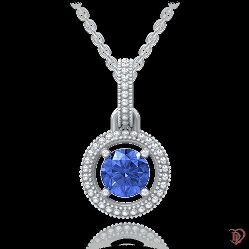 <p>Підвіс в білому золоті зі вставками: сапфіри</p>  <p>Універсальна підвіска Едем: Роса з класичним поєднанням білого золота і синього сапфіра, стане відмінним ювелірною прикрасою для повсякденного носіння. Розкішний синій поєднується практично з кожним відтінком гардероба, що гарантує різноманітні варіанти сучасного, стильного і ефектного образу. На верхній частині круглої підвіски розташований широкий бунтік (вушко), який надійно закріпить кулон на ланцюжку, дозволить йому лягати на тілі рівно і не буде перевертатися. Міняйтеся кожен день, пробуйте нові образи! Завжди бажайте більшого!</p>  0009843