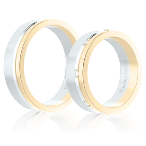 <p>Обручальное кольцо в желтом золоте</p>  0014324