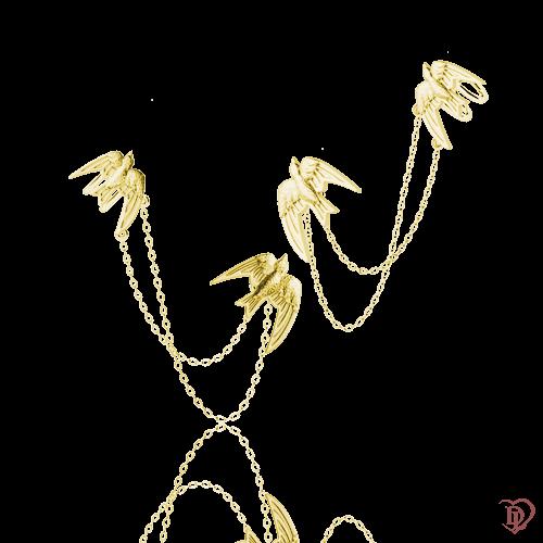 <p>Серьги в желтом золоте</p>  0016204