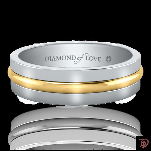 <p>Обручальное кольцо в белом золоте</p>  0021213