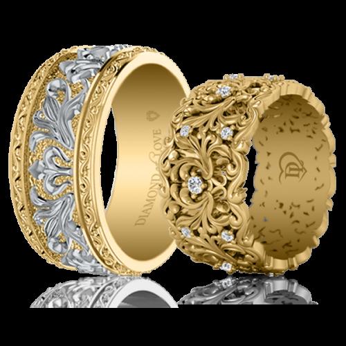 <p>Обручка в жовтому золоті</p>  0021614