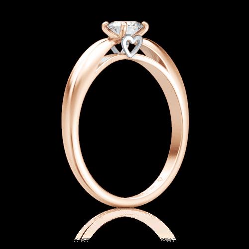 >Помолвочное кольцо Мой милый ангел: Бережное касание